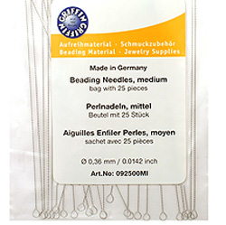 "Griffin Collapsible Medium (.0142"") Beading Needles"