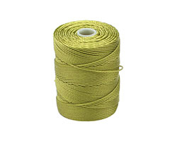 C-Lon Chartreuse (.5mm) Bead Cord