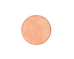 Copper Circle Blank 19mm