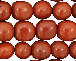 Red Jasper Tumbled Nugget 11-13x10-11mm