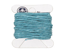 Turquoise Irish Waxed Linen 4 ply
