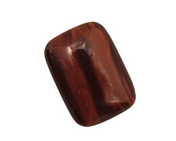Red Tiger Eye Rectangle Cabochon 18x25mm