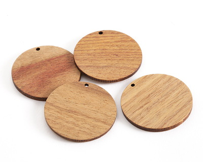 Walnut Wood Coin Focal 38mm
