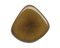 Tagua Nut Olive Thick Slice 16-18x26-32mm