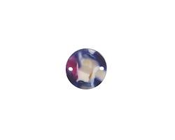 Zola Elements Twilight Matte Acetate Coin Link 14mm