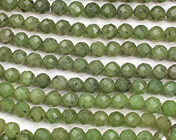 Canadian Jade Faceted Round 6mm