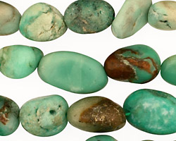 Chrysoprase Tumbled Nugget 9-18x9-11mm