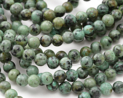 African Turquoise Round 6mm