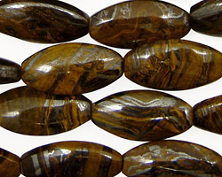 Tiger Iron Horse Eye 20x10mm