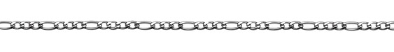 Stainless Steel Figaro Chain