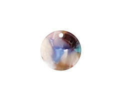 Zola Elements Garden Party Acetate Coin Charm 14mm