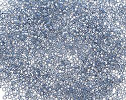 TOHO Milky Montana Blue (with Silver Lining) Round 15/0 Seed Bead