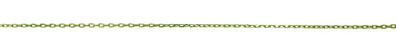 Neo Lime Green Oval Cut Cable Chain 3.5x2mm
