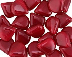Czech Glass Cherry Briolette 11x12mm