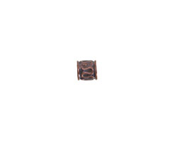 Greek Bronze (plated) Squiggle Barrel 5mm