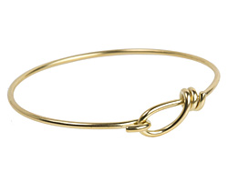TierraCast Brass Wire Bracelet w/ Hook & Eye