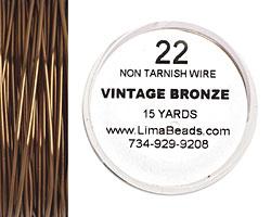 Parawire Vintage Bronze 22 gauge, 15 yards
