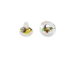 Unicorne Beads Succulent Teardrop 9-10mm