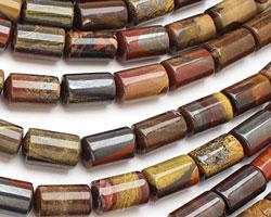 Autumn Jasper Barrel 19-21x12-13mm