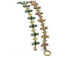 Titania Bracelet Pattern for CzechMates