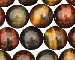 Tiger Eye (multi) Round 14mm