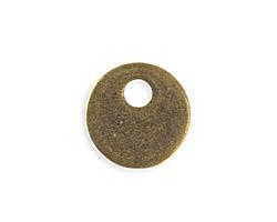 Vintaj Antique Brass (plated) Asymmetrical Donut Blank 24mm
