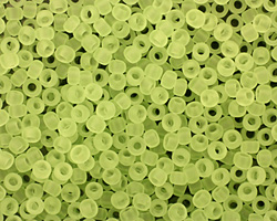 TOHO Transparent Frosted Citrus Spritz Round 8/0 Seed Bead