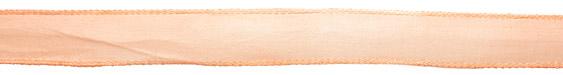 Peach Silk Ribbon 20mm