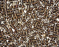 TOHO Metallic Iris Brown Triangle 11/0 Seed Bead