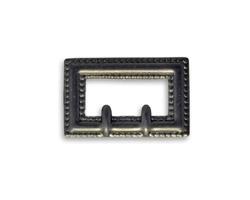Vintaj Arte Metal Rectangle Buckle Decorivet 24x14.5mm