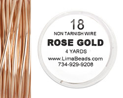 Parawire Rose Gold 18 gauge, 4 yards