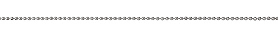Antique Silver (plated) Ball Chain (bulk discount)