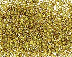 TOHO Sour Apple Picasso Hybrid Round 11/0 Seed Bead