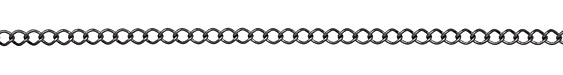 Gunmetal Curb Link Chain