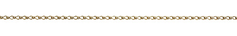 Antique Gold (plated) Ladder Chain