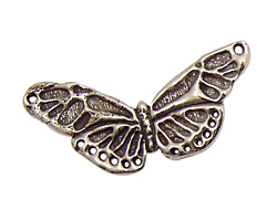 Green Girl Pewter Butterfly Centerpiece 38x20mm