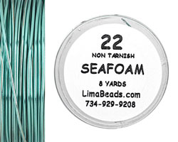 Parawire Seafoam 22 Gauge, 8 Yards