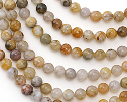 Russian Lace Agate Round 6mm