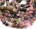 Tourmaline Faceted Puff Coin 6-6.5mm