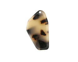 Zola Elements Light Tortoise Shell Acetate Freeform Cut Focal 16x28mm