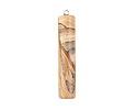 Picture Jasper Cylinder Pendant 12x57-59mm