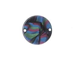 Zola Elements Moondance Acetate Coin Link 20mm
