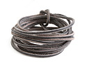 Black Vintage Leather Cord 2mm