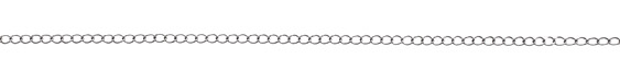 Antique Silver (plated) Curb Chain