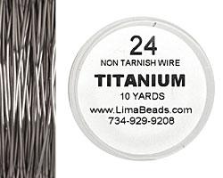 Parawire Titanium 24 gauge, 10 yards