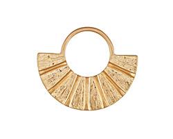 Zola Elements Matte Gold (plated) Fanned U Focal 34x28mm