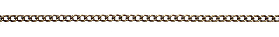 Antique Brass (plated) Medium Curb Chain