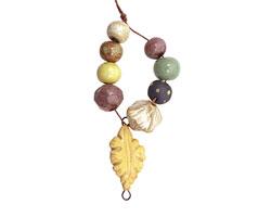Gaea Ceramic Golden Leaf Bundle