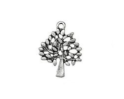 Zola Elements Antique Silver (plated) Apple Tree 22x28mm