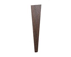 Wood Long Shard Pendant 15x70mm